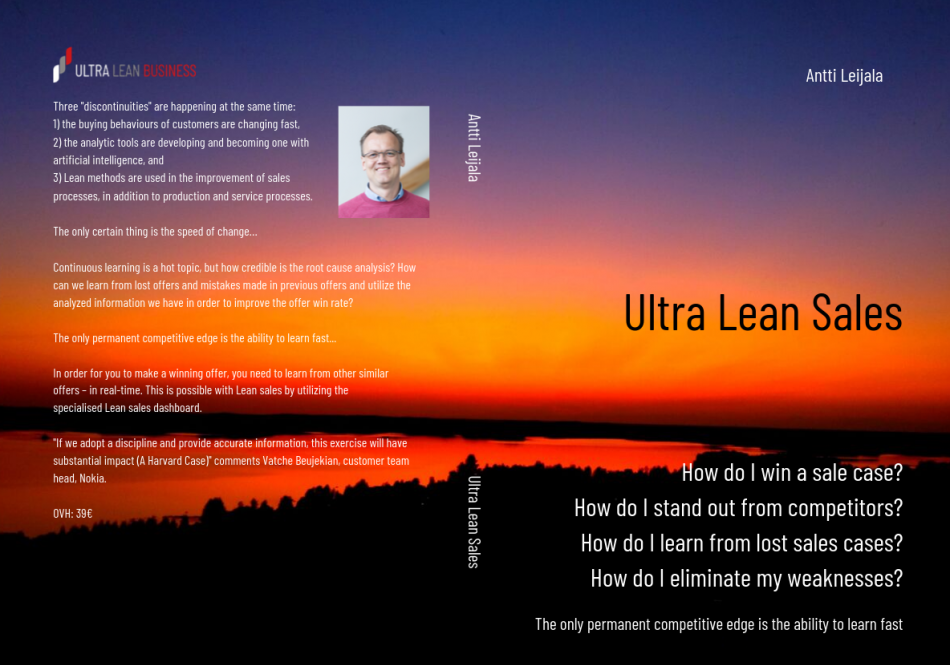 UltraLeanSales cover page